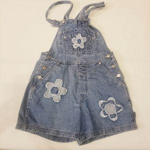 Revolt Vintage 90s Denim Overall Shorts size S